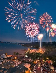 July 4th Nyack Fire Works. Credit: Arnold Roufa, MD