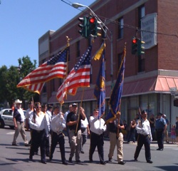 Nyack Memorial Day Parade, 2010. Photo Credit: Roger S. Cohen