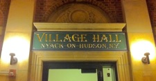 Nyack VIllage Hall at Night. Photo Credit: Roger S. Cohen