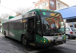 Tappan Zee Express (TZx) bus. Photo Credit: CityCures.com