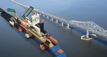 New Tappan Zee Lego Bridge
