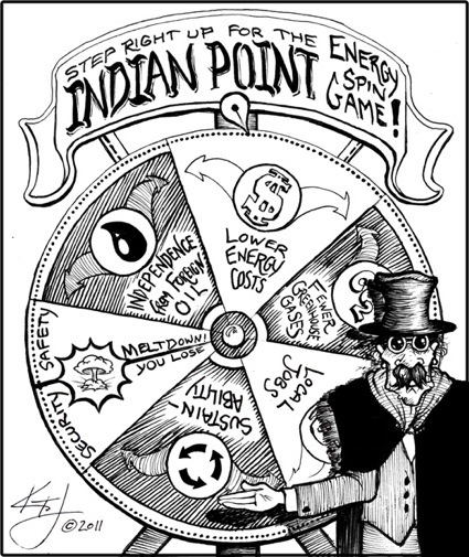 It Takes A Village: Indian Point Roulette. Copyright 2011, Kipp Jarden. www.KippTJarden.com
