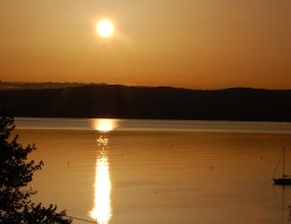 Hudson River Sunrise, 3/30/2011. Credit: Dave Zornow