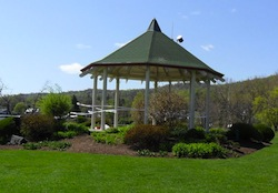 Photo: Gazebo at Memorial Park in Nyack Credit: NyackBackYard.blogspot.com