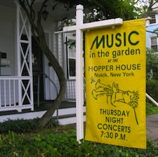 Jazz Music In The Garden at Hopper House 201108