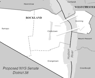 Proposed NYS Senate District 28 (Rockland, Ossining)