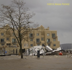 Boat House After Hurricane Sandy ©2012 Alissa Perretz