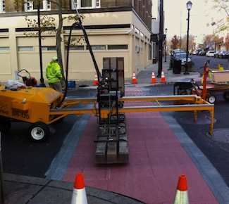 Streetscape Crosswalk -- How It's Made