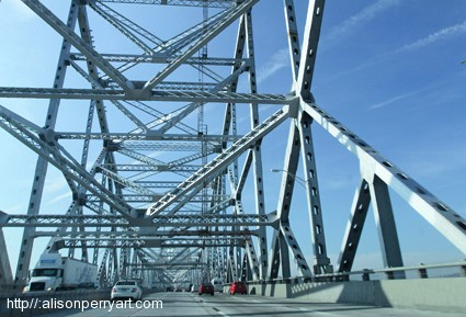 Tappan Zee Bridge. ©2013 Alison Perry