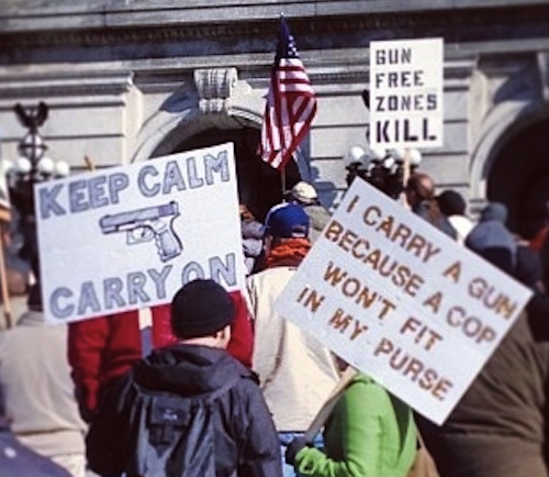 Harrisburg PA 2nd Amendment Protests on 2013-01-19 from Instagram via Buzzfeed