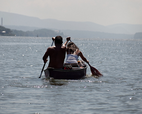 Two Row Wampum Renewal Paddle
