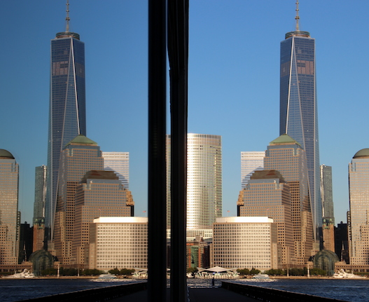 Freedom Tower Mirrored. Photo Credit ©2013 Elijah Reichlin-Melnick