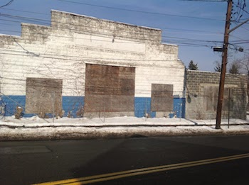 Abandoned 250 Main St. Photo Credit: Bill Demarest 2/2014