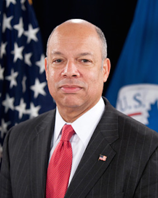 Jeh Johnson Sec of Homeland Security