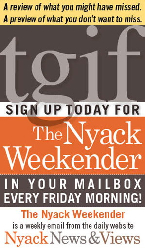 Sign up for the Nyack Weekender!