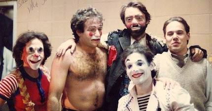 Clowns of BAC with Robin Williams