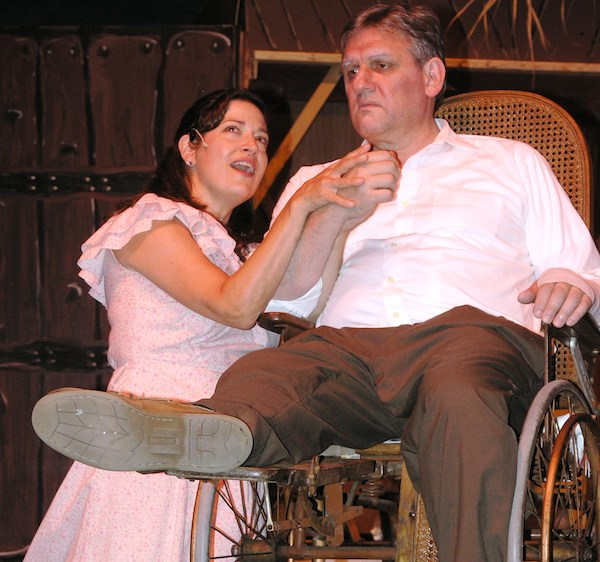 Nyack's Julie Wendholt with Steve Taylor of White Plains in Most Happy Fella opens on Fri Aug 8 in Thornwood, NY. Photo Credit: Andrea Minoff
