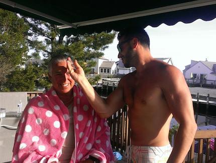 NSL_Steve Cutting His Father's Hair
