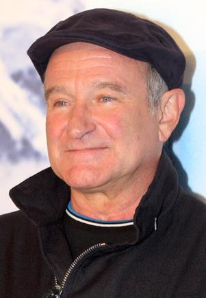 Robin Williams, 2001. Source: Wikipedia