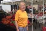 Joan at the market