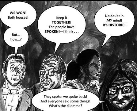 2014 Mid Term Elections, Cartoon by @2014 Dan Whiteof4thmb