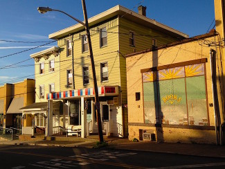 Piece A Day, Trash, garbage, Main St, Nyack. Photo Credit: Dave Zornow