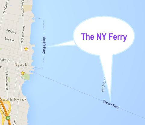 NyFerryGoogleMaps
