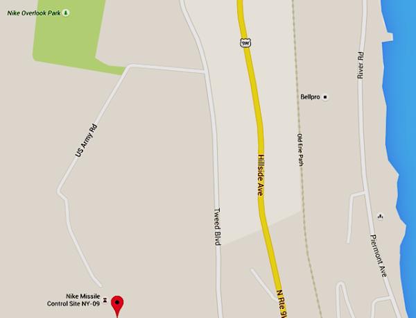 Mt Nebo Nike Missile Base. Source: Google Maps