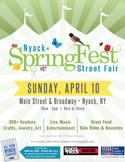 SpringFest Poster NNV