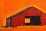 Barn-Emerging-From-Oklahoma-Prairie