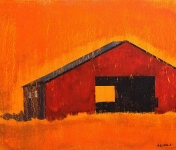Barn-Emerging-From-Oklahoma-Prairie