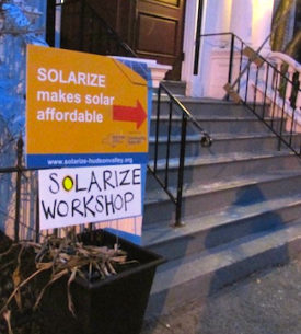 Solarize workshop at Nyack Center. Photo: Annie Hekker