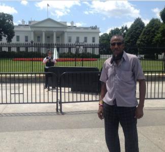 Waymon in Washington