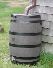 Nyack News and Views green infrastructure rain barrel