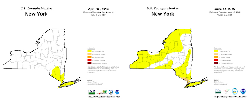 drought maps USDM