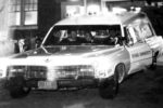 Nyack Ambulance night call, 1960s. From the collection of Maura Nolan