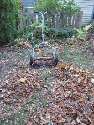 love 'em and leave 'em leaf mulch mulch in place