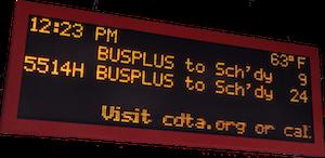 LHTL bus arrival times
