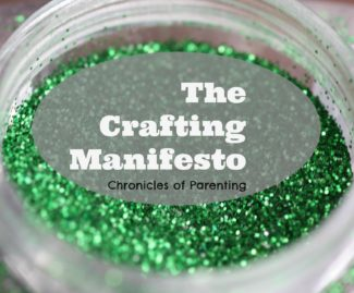 Crafting Manifesto