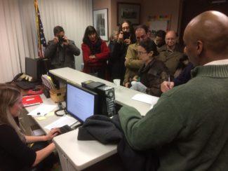 Schumer District Office Peekskill, 1/24/2017