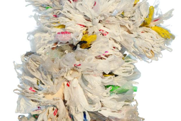 Bag It!'s Jeb Berrier wears polyethylene monomers