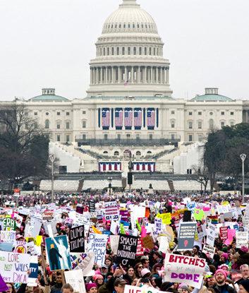 Women's March, D.C.Photographs by Lisa Levart. International Women's Day