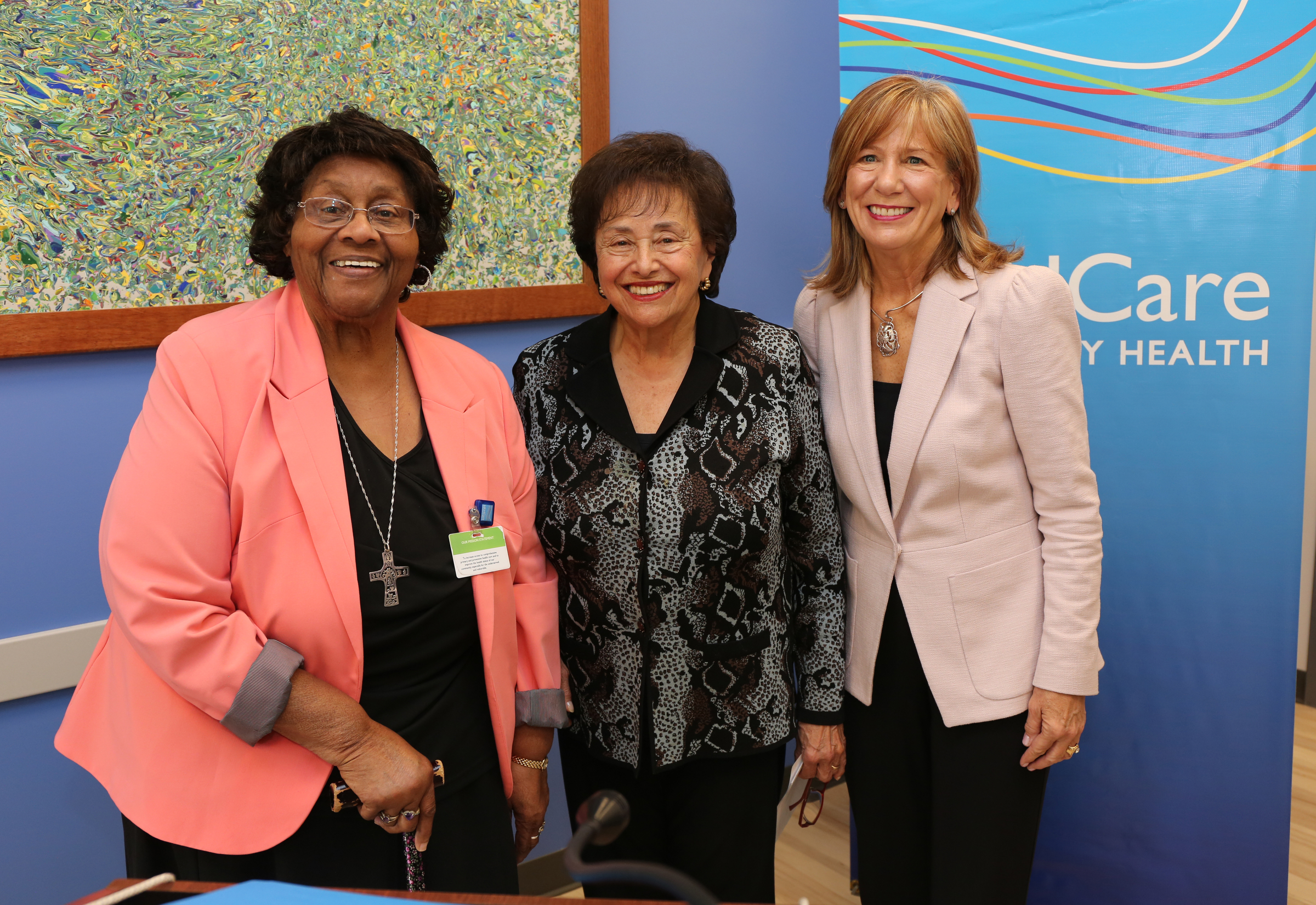 Nita Lowey Visits HRHCare Community Health Center in Nyack
