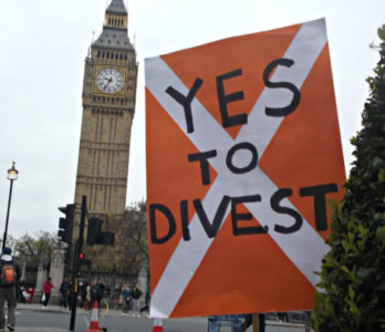 fossil fuel divestment london