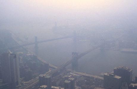 ground level ozone smog