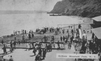 Hook Mountain Beach at Nyack Beach State Park