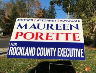 Maureen Porette sign