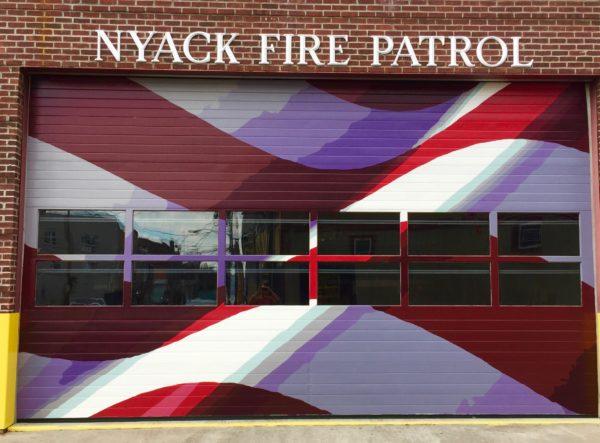 Nyack Fire Patrol, Jackson Engine Company door