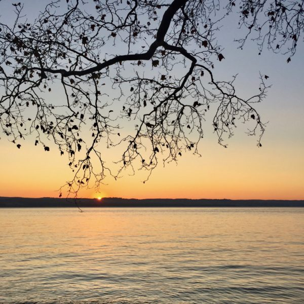 Nyack Beach State Park, Golden Hour, sunrise. Photo Credit: Mike Hays