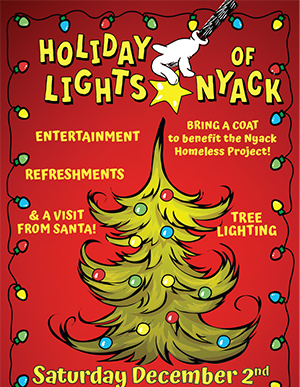 Nyack Chamber of Commerce, Holiday Lights, 2017